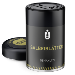 Packaging: Salbeiblätter, gemahlen