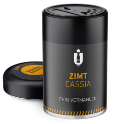 Packaging: Zimt Cassia, gemahlen