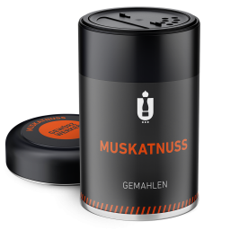Packaging: Muskatnuss, gemahlen
