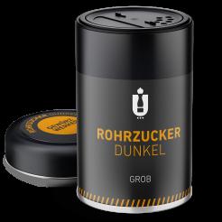 Packaging: Rohrzucker, dunkel