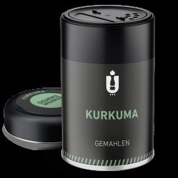 Packaging: Kurkuma, gemahlen
